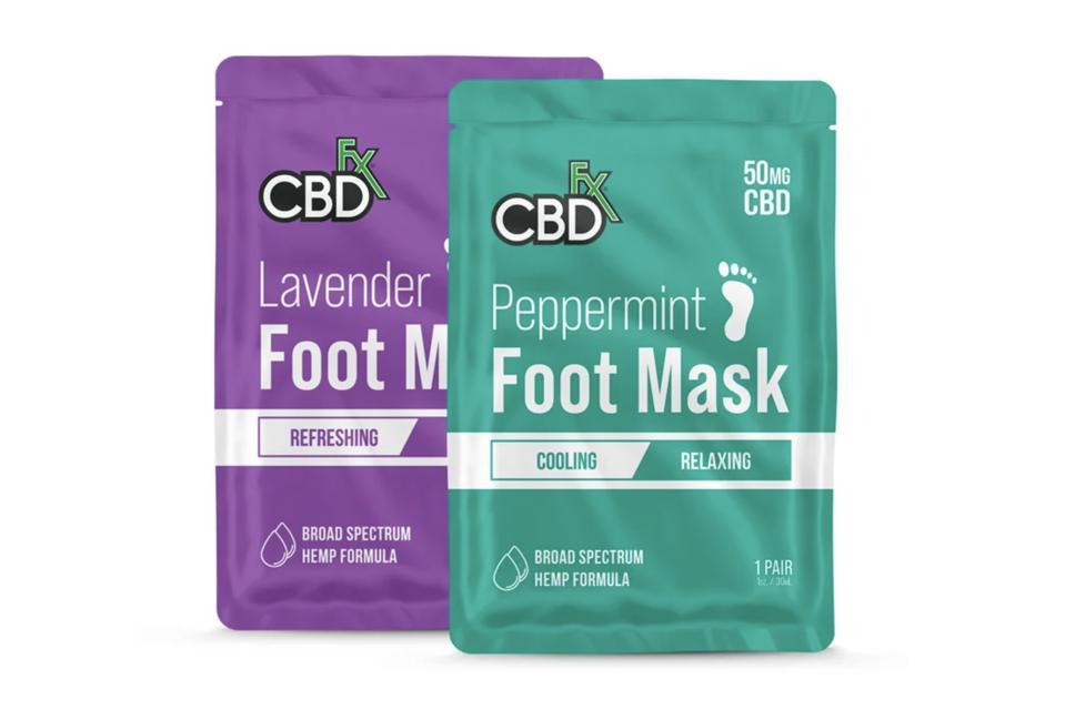 CBD-Infused Foot Masks by CBDfx