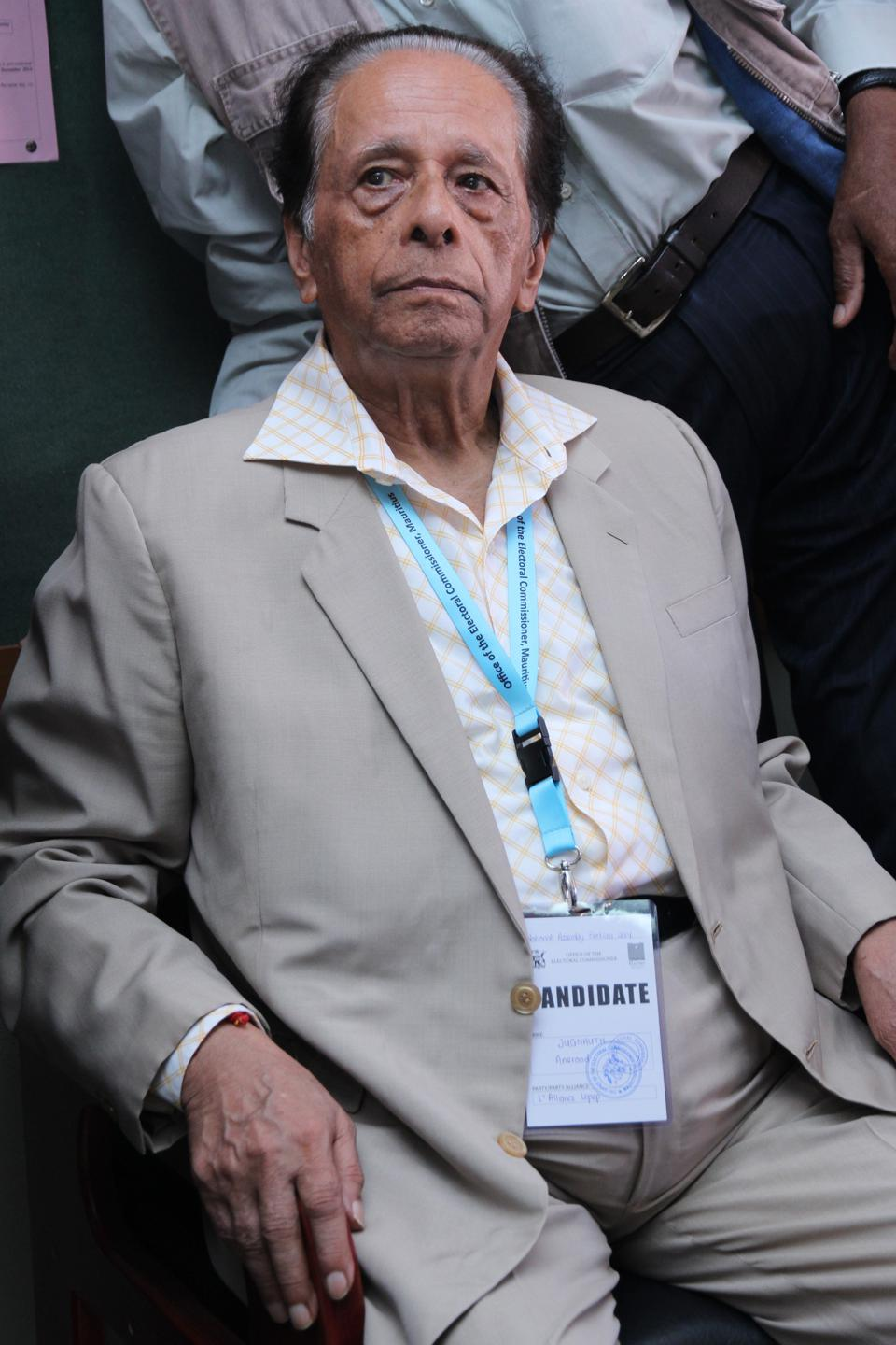 11 Dec 2014: Anerood Jugnauth elected Prime Minster at age 84 years old, and stepped down two years later