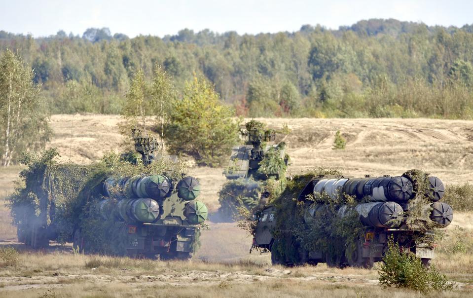 Zapad 2017 military drills in Brest Region, Belarus