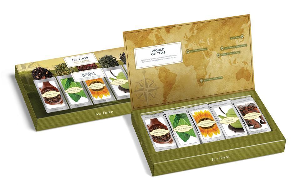 World of Tea Single Steeps from Tea Forte