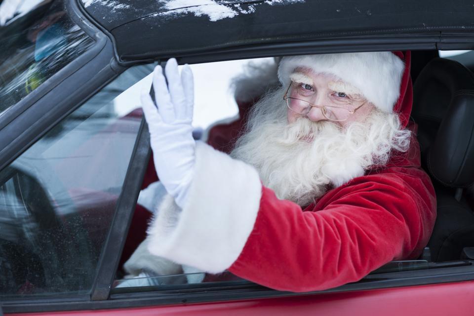 How to Make Santa Your Wingman on Waze