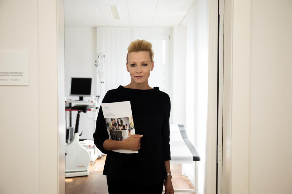 Dr. Anna Erat, Medical Director of Hirslanden Check-Up Center, Zurich, Switzerland