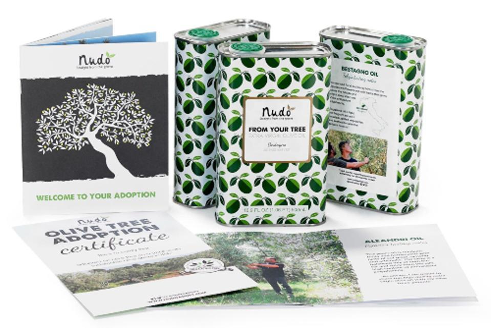 Nudo's olive tree adoption kit