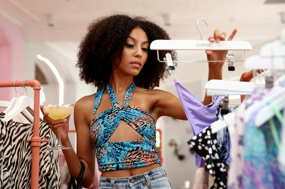 Celebrities Attend Boohoo Black Friday Gifting Suite
