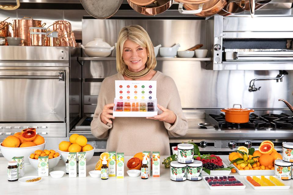 Martha Stewart, Martha Stewart CBD, Canopy Growth Corporation, CBD gifts, Marquee Brands