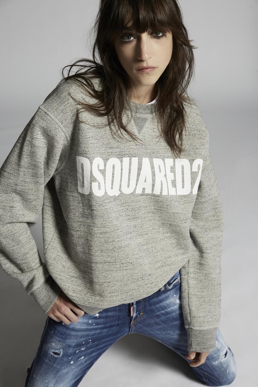 DSQUARED2 Big Logo Crewneck Sweatshirt