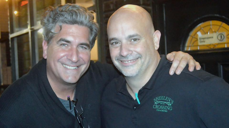 Sean Flannery and Frank Pascale of Sheelen's Crossing in Fanwood, New Jersey.