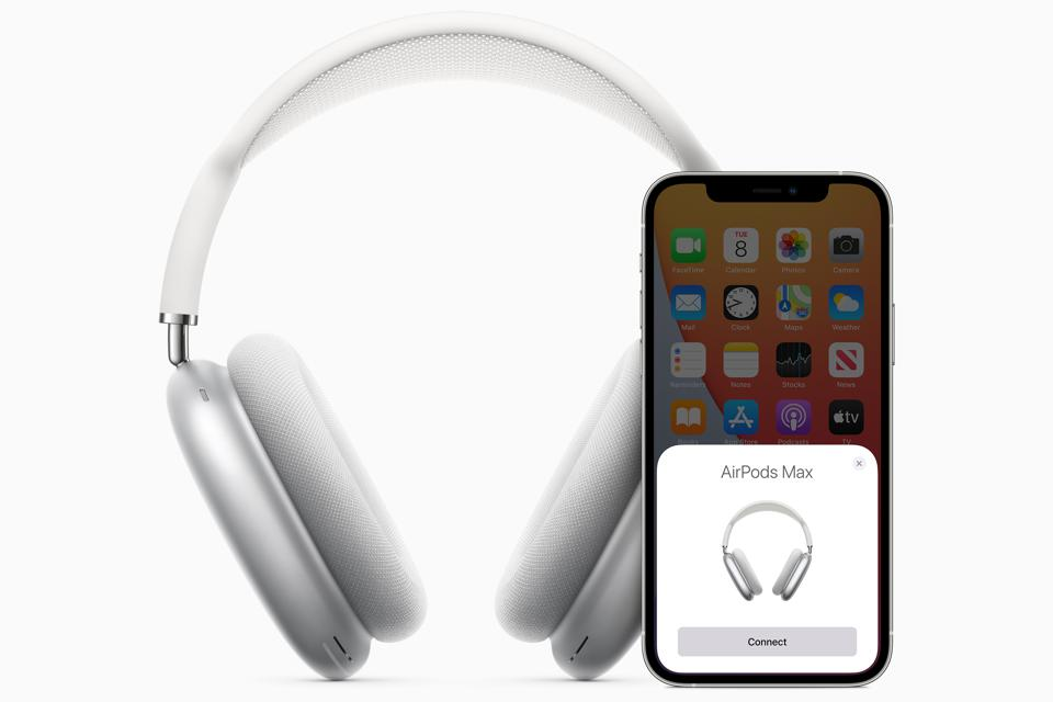 Apple AirPods Max connect effortlessly to an iPhone.