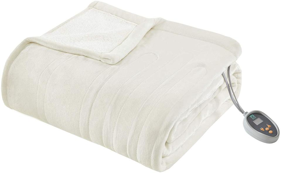 True North by Sleep Philosophy Ultra Soft Reversible Berber Electric Queen Blanket