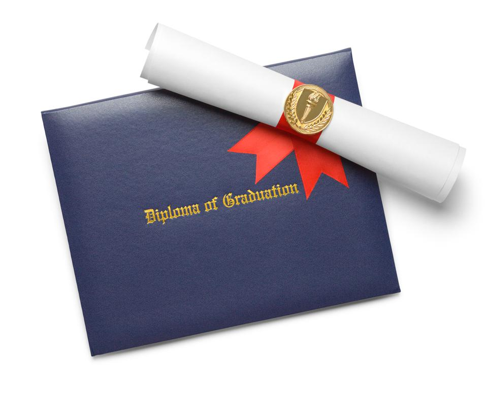 Blue Diploma Cover Torch