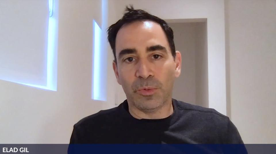 Zoom of venture capitalist Elad Gil
