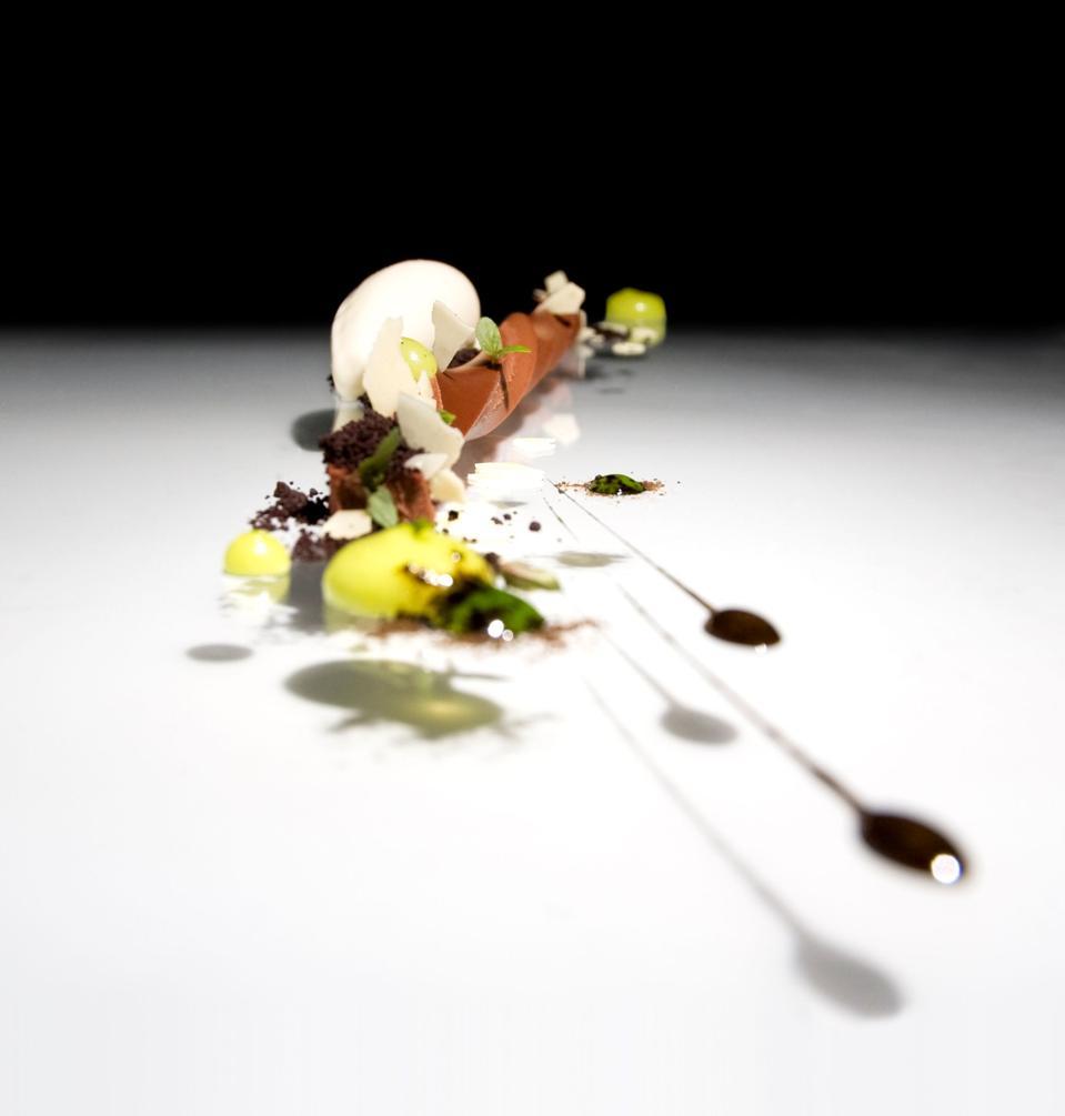Chocolate desert at Vespertine