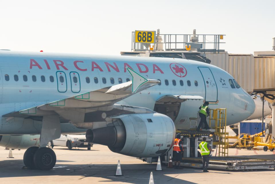 Air Canada will offer facial biometric readings on flights from the U.S. to Canada