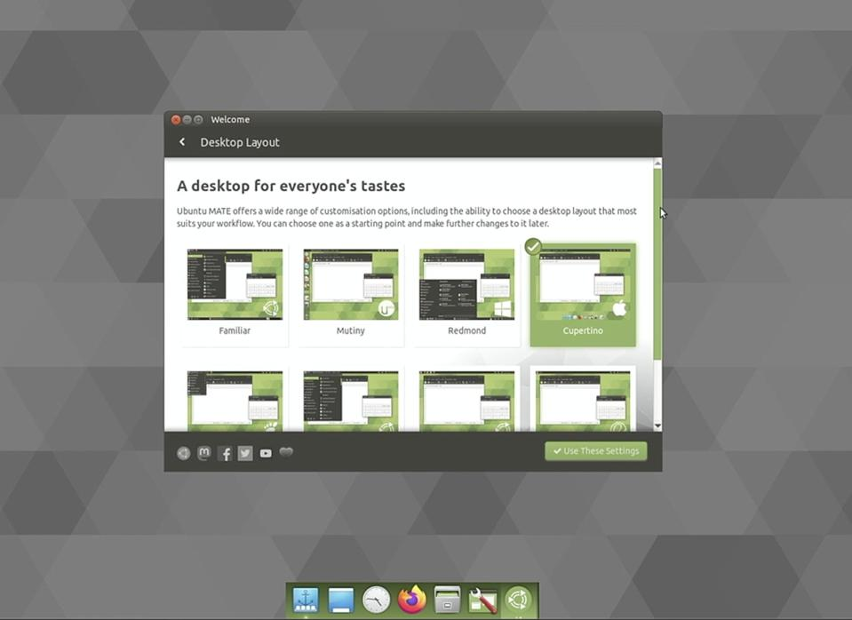 Ubuntu MATE 20.10: Looks great, runs great, tons of desktop layouts for everyone.