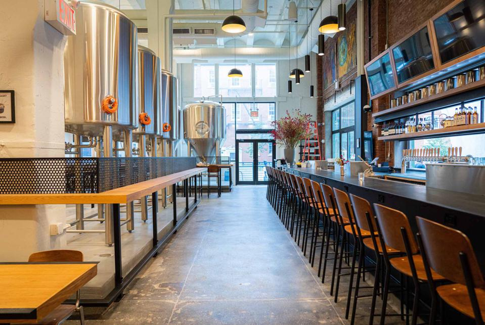 Craft breweries abound in Brooklyn and Queens, and now New York City's most famous borough, Manhattan, welcomes the arrival of the Torch & Crown Brewing Company.