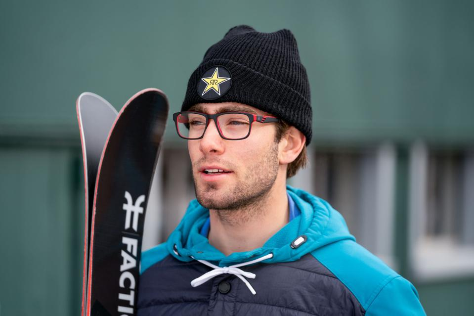 Alex Hall and the U.S. Ski Team are working with Spyder to produce eyewear for athletes