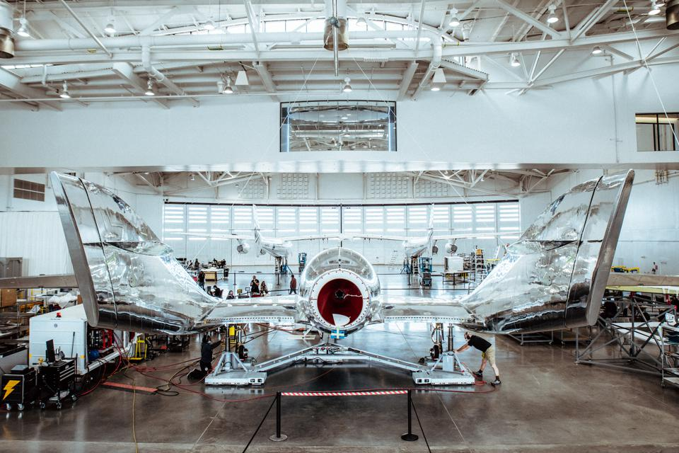 Virgin Galactic pre-flight operations