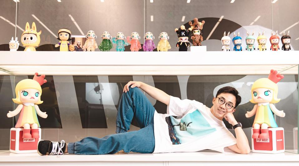 Wang Ning, founder and chairman of Pop Mart.