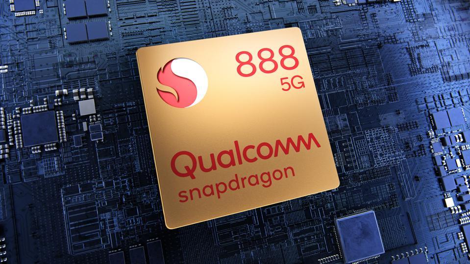 Une image du Snapdragon 888.