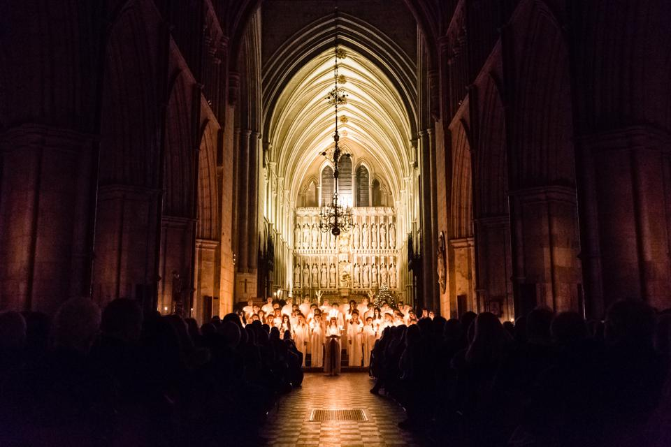 In happier times: The Swedish Church celebrates Lucia in Southwark Cathedral