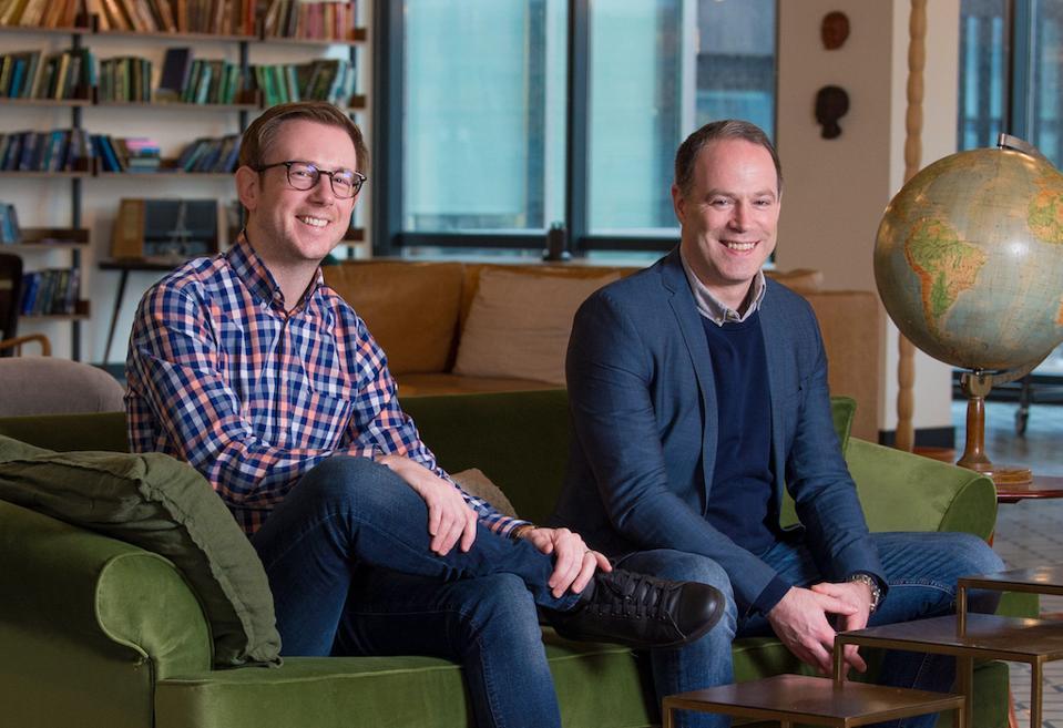 LandTech founders Andrew Moist and Jonny Britton