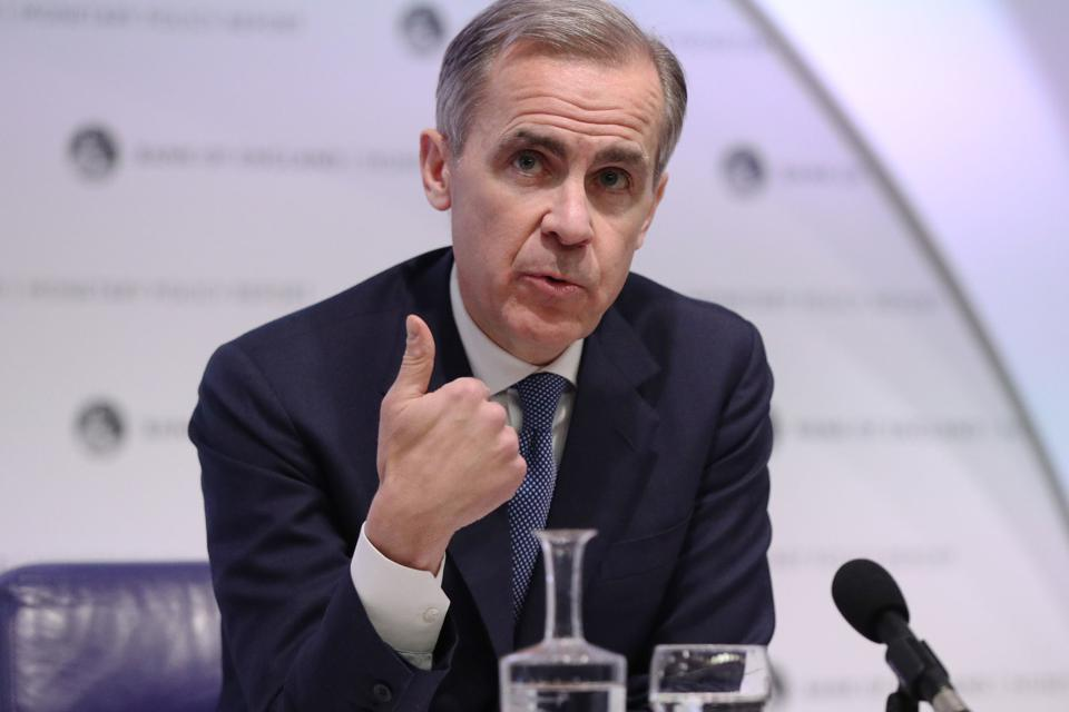 Bank Of England Monetary Policy Report Announcement