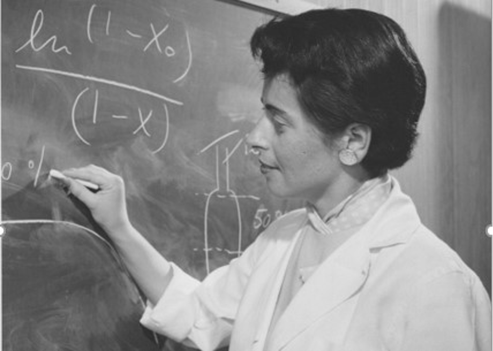 Dr. Margareth Arst, an early pioneer for women in science, earned her physics Ph.D. in 1947.