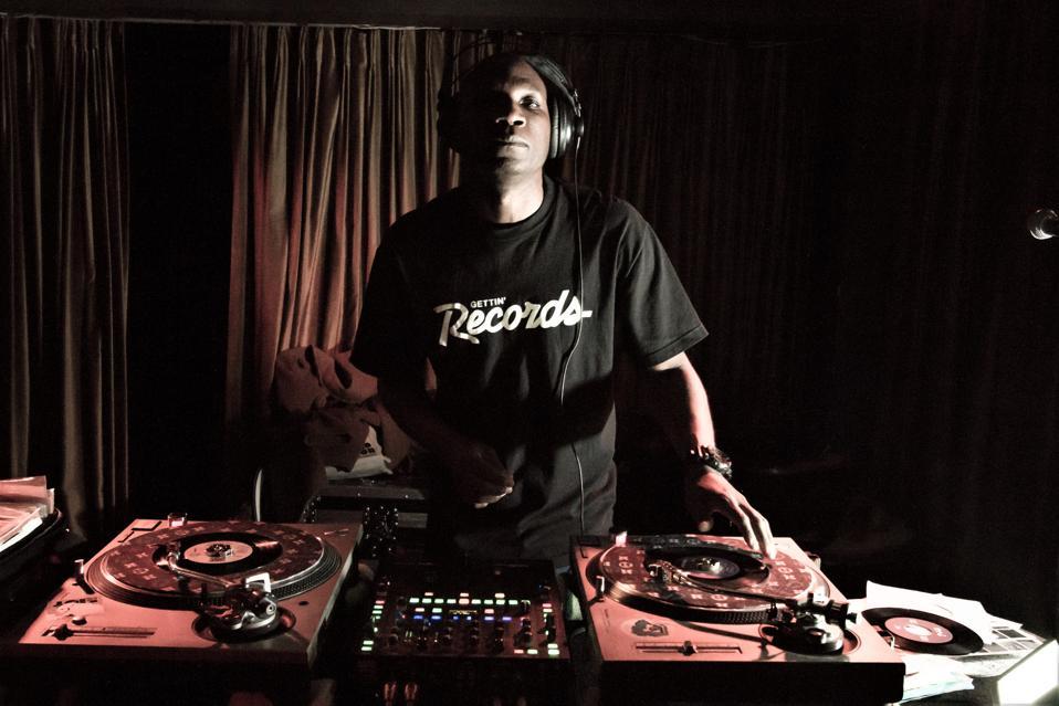 DJ Skeme Richards of the Rocksteady Crew