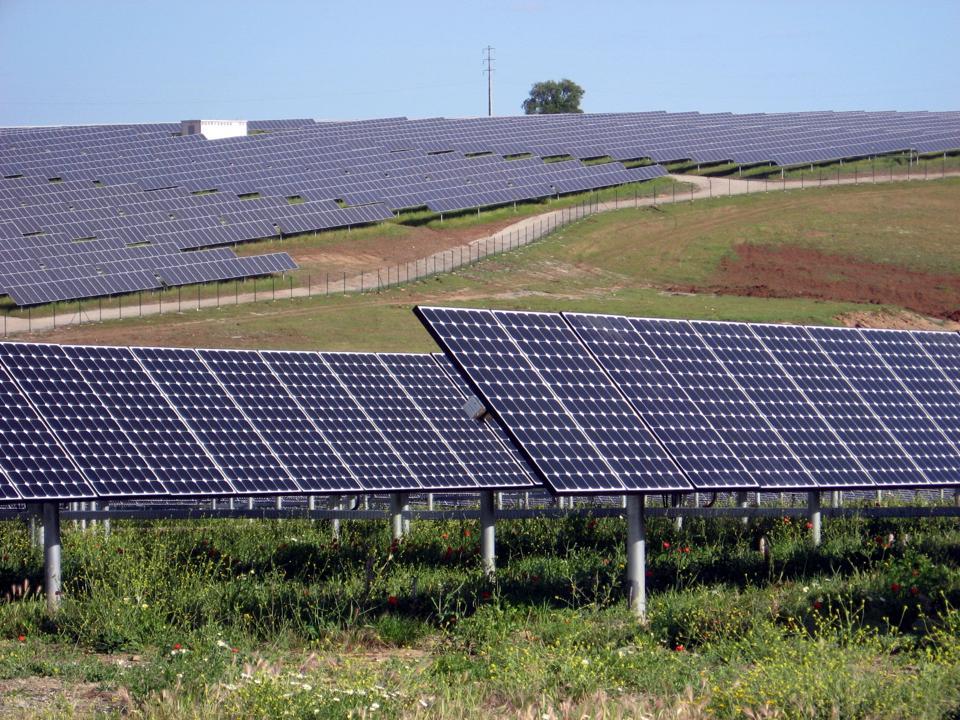 Serpa Solar Park built in Portugal in 2006