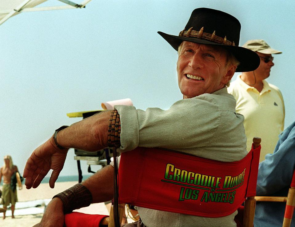 Paul Hogan, Crocodile Dundee, interview, The Very Excellent Mr Dundee, sequel, anniversary