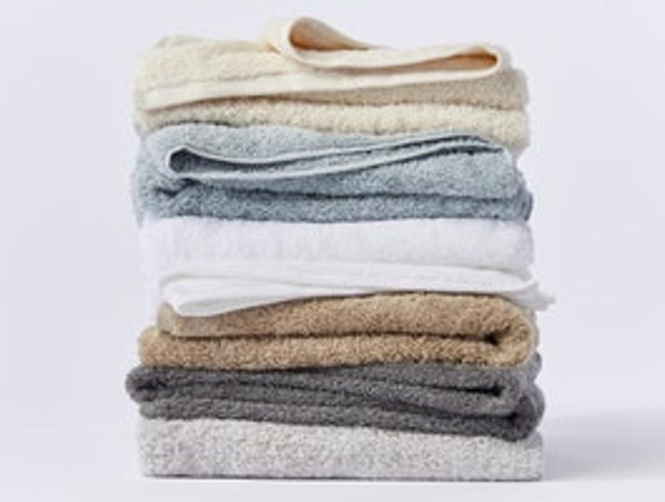 Coyuchi Cloud Loom™ Organic Towels