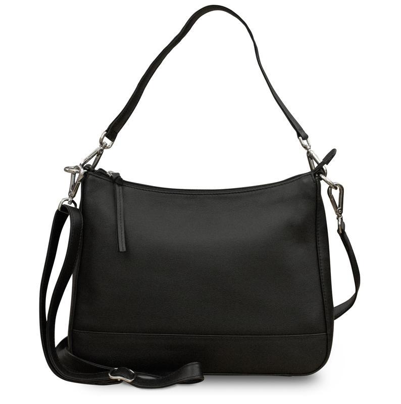 ili New York Medium Leather Convertible Hobo