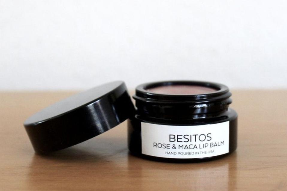 Besitos Rose & Maca Lip Balm, Salud Shoppe