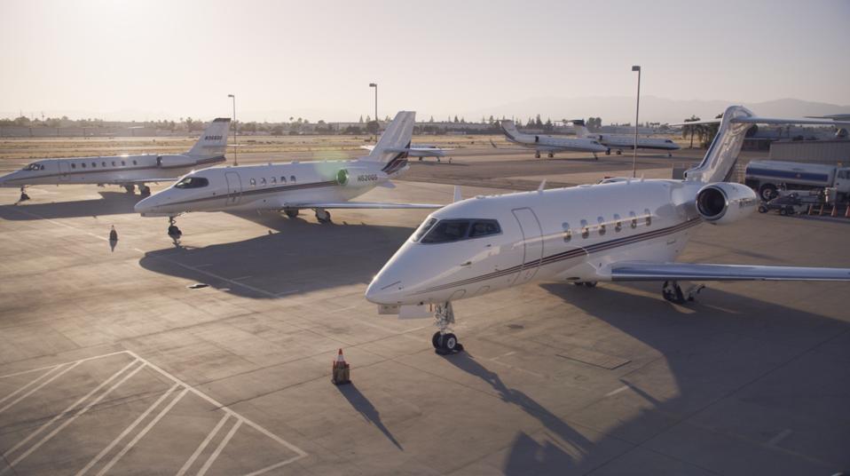 NetJets private jet orders