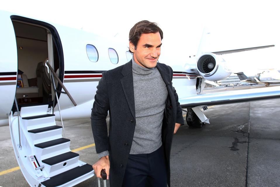 Roger Federer NetJets