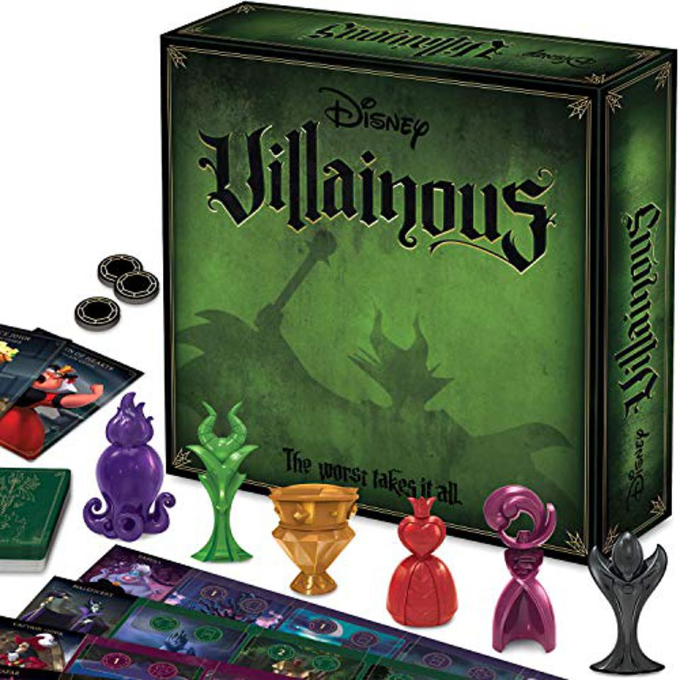 Ravensburger Disney Villainous Strategy Board Game for Age 10 & Up - 2019 TOTY Game of The Year Award Winner