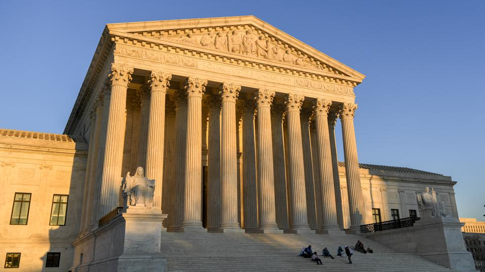 The U.S. Supreme Court building exterior