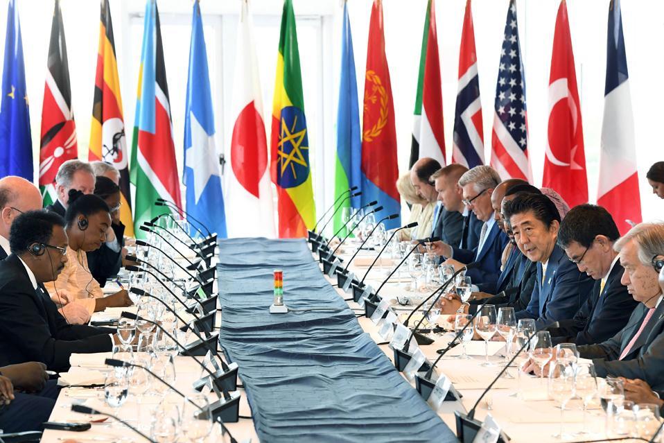 JAPAN-AFRICA-DIPLOMACY-TICAD