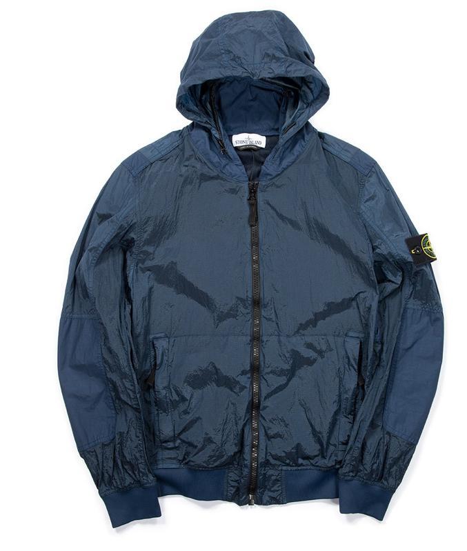 Stone Island Jacket in Blue Marine