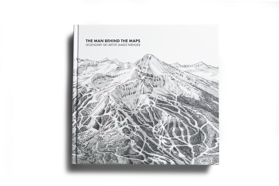 The Man Behind the Maps: Legendary Ski Artist James Niehues
