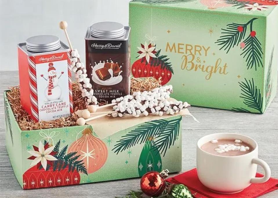 Holiday Hot Chocolate Duo Gift Box from Harry & David