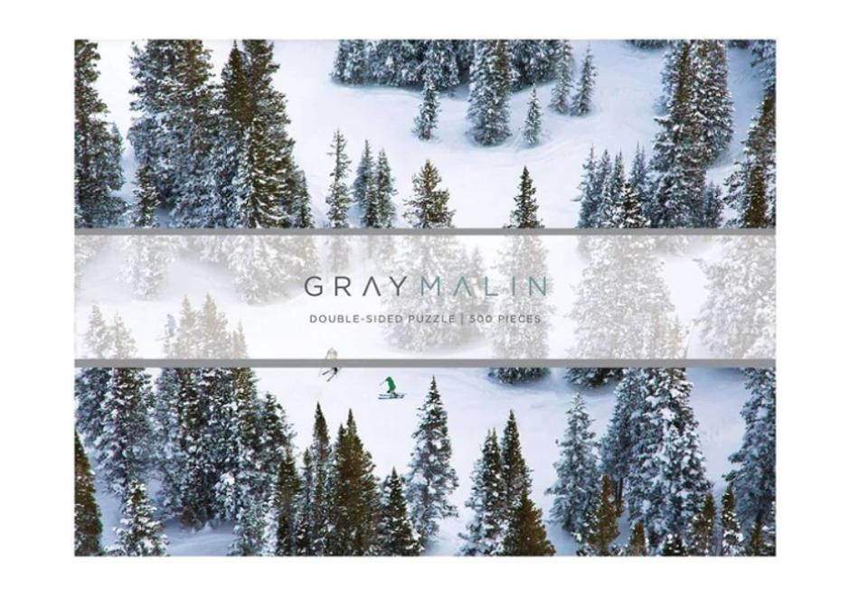 Gray Malin The Snow Double-Sided Puzzle from Galison