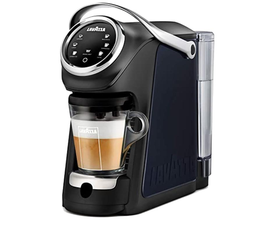Lavazza Expert Classy Plus Single Serve All-in-One Espresso and Coffee Brewer Machine