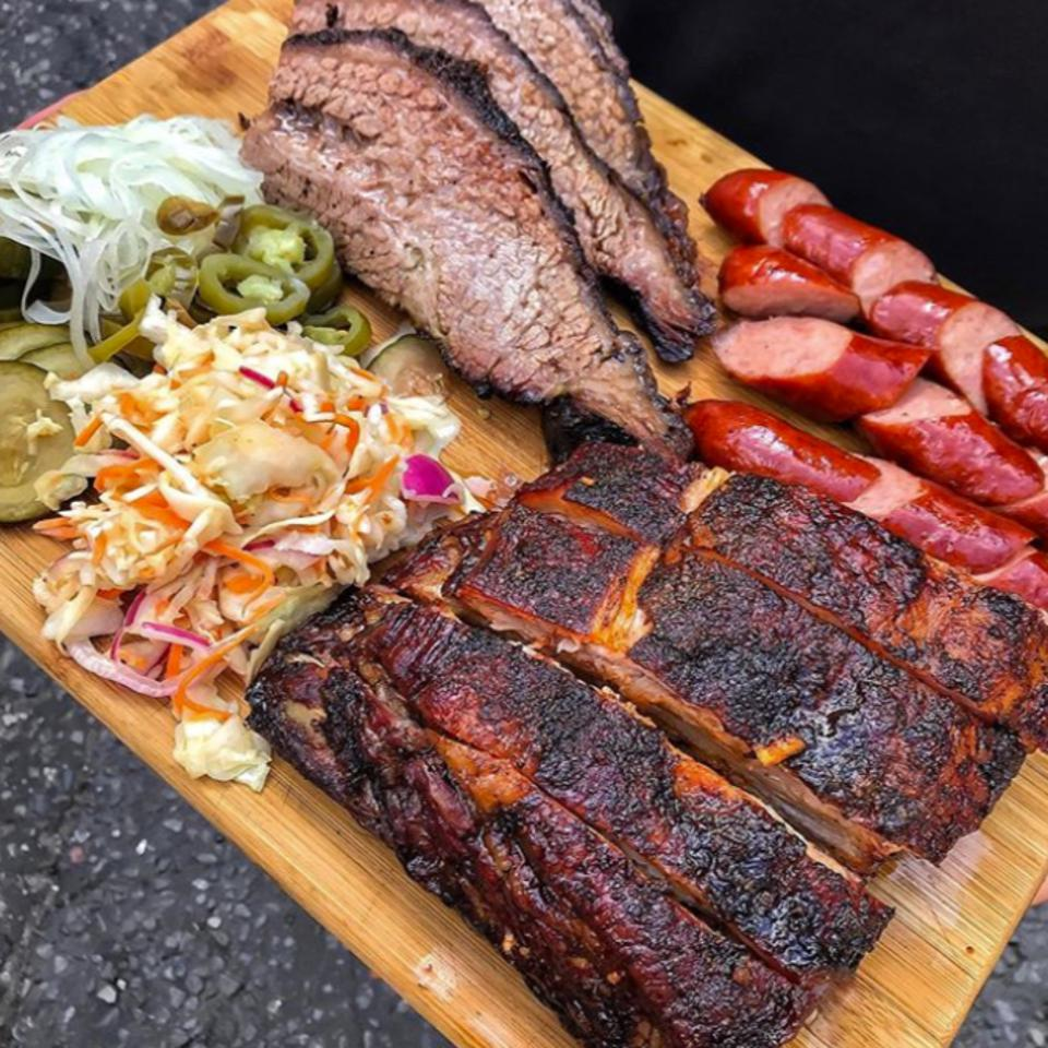 Large Smoked BBQ Crate from The Food Crate