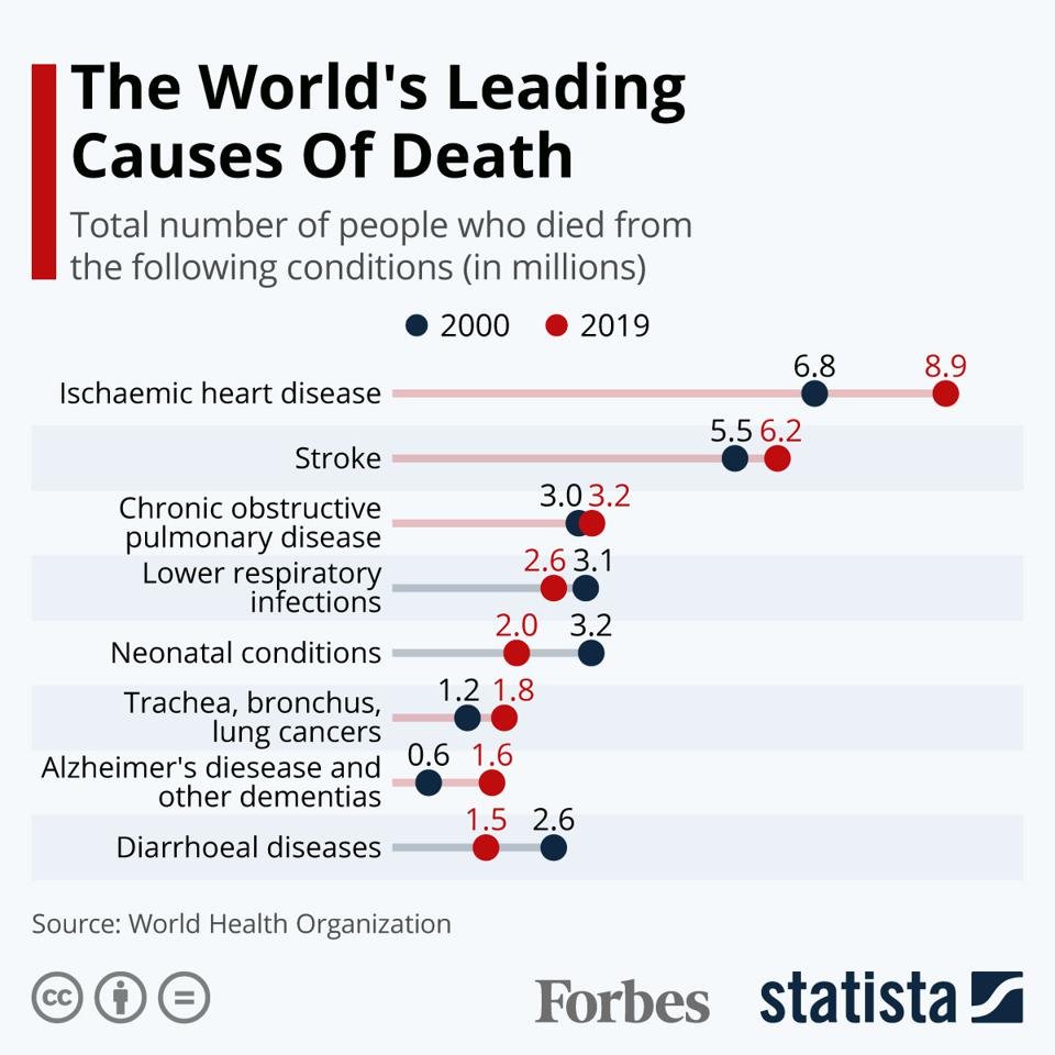 The World's Leading Causes Of Death