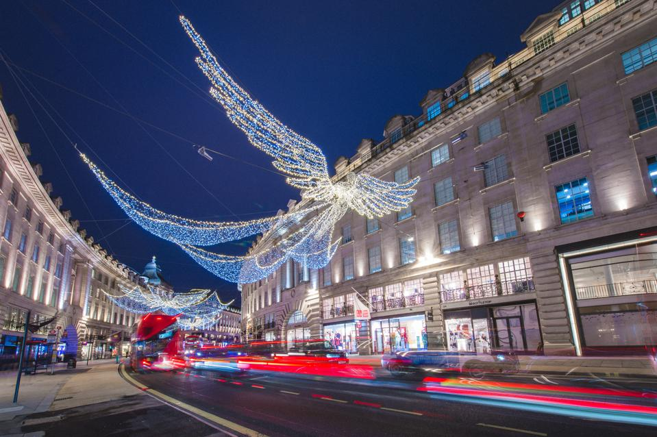 London Lights Up For The Festive Season