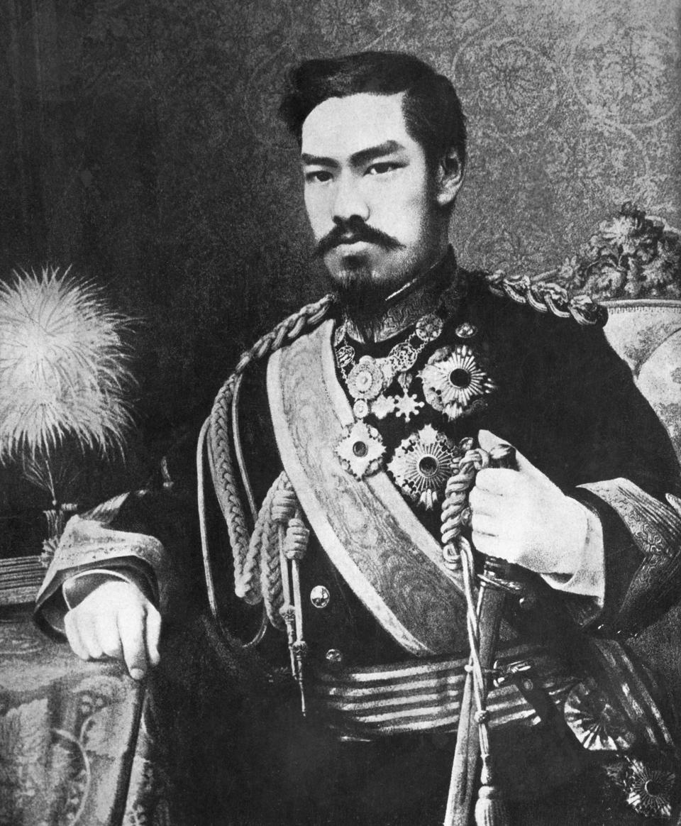 Emperor of Japan between 1867-1912, Mutsuhito from the Meiji family marked the end of the Shogunate, and the rapid industrialization of Japan
