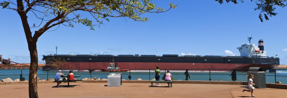 MOL's bulk carrier fleet transports much of the world's coal, iron ore and other base minerals around the world