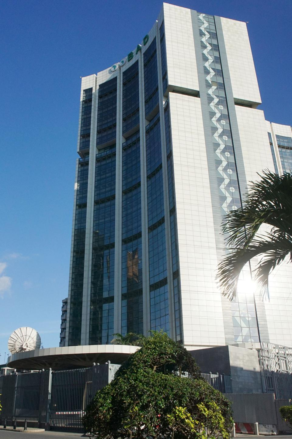 The African Development Bank Group headquarters in Le Plateau, the business district of the Abidjan, capital of the Ivory Coast.