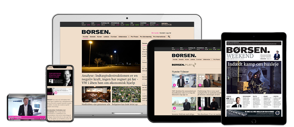 Danish business publication, Borsen